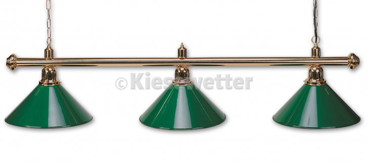 Billard-Lampe Evergreen 3-er