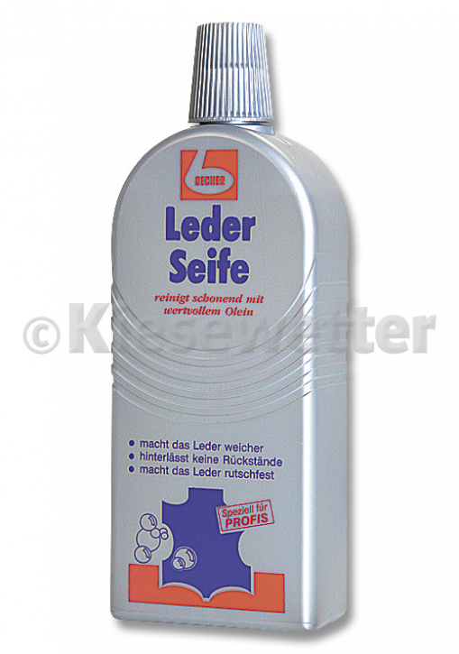 Leder Seife 500 ml