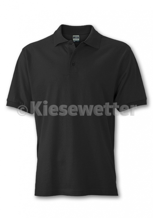 Polo-Shirt Gr. M Black (Artnr. 16101)