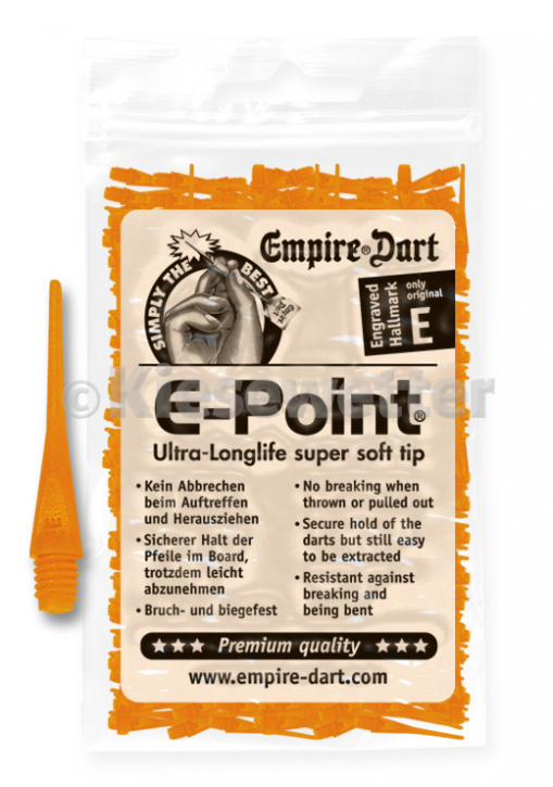 E-Point-Spitzen 2BA Neonorange (Artnr. 20087)