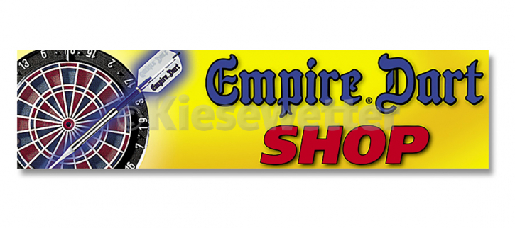 Werbe-Schild Empire Dart Shop