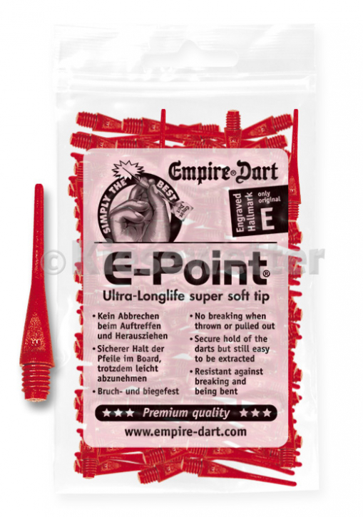 E-Point-Spitzen 2BA Rot (Artnr. 20677)