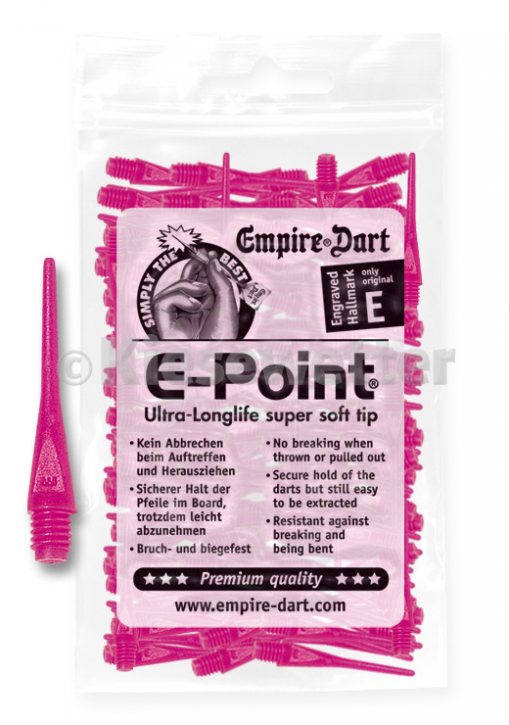 E-Point-Spitzen 2BA Neonpink (Artnr. 20682)
