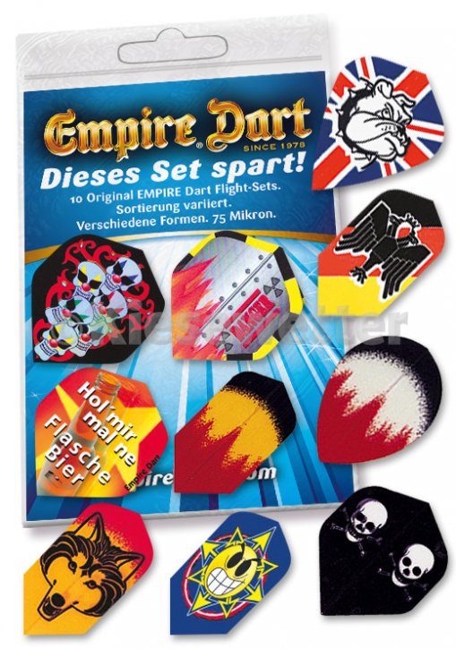 Empire Spar-Mix 8: 10 Flight-Sets (Artnr. 21197)
