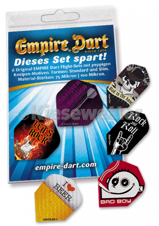Empire Spar-Mix 4: 6 Flight-Sets Kneipe (Artnr. 22283)