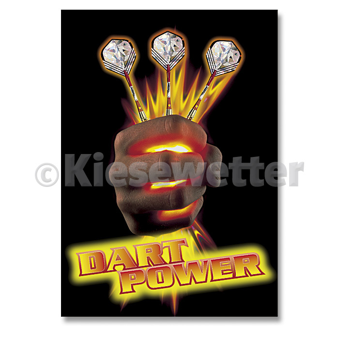 "Dart-Poster ""Dart Power"""