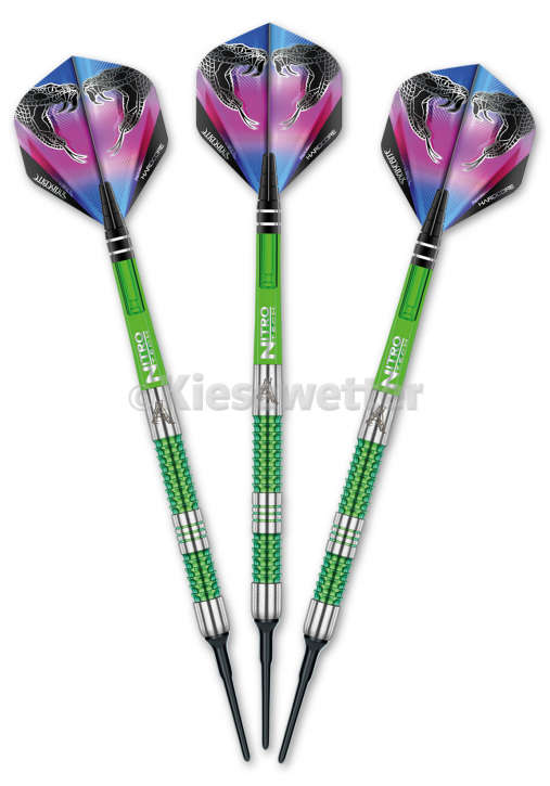 Dart-Set Snakebite Mamba Soft 18 g Peter Wright (Artnr. 23183)