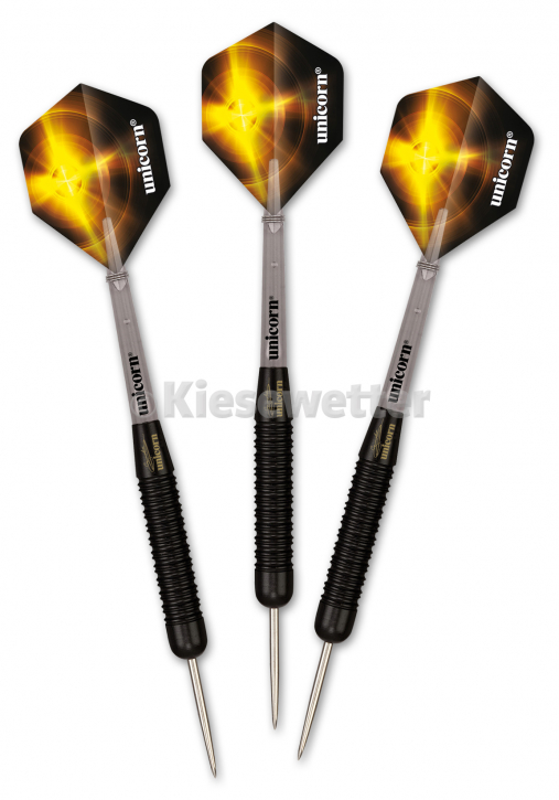 Steel Dart-Set Black Brass Barrel 25 g Gary Anderson (Artnr. 23207)
