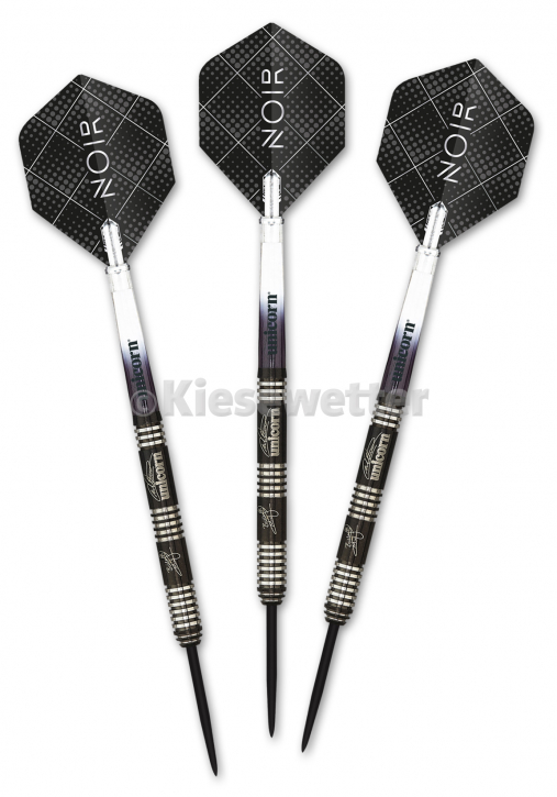 Steel Dart-Set Noir Deluxe Barrel 22 g Michael Smith (Artnr. 23214)