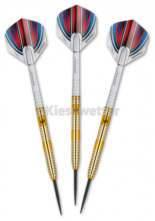 Steel Dart-Set Gold Barrel 23 g Daryl Gurney (Artnr. 23215)