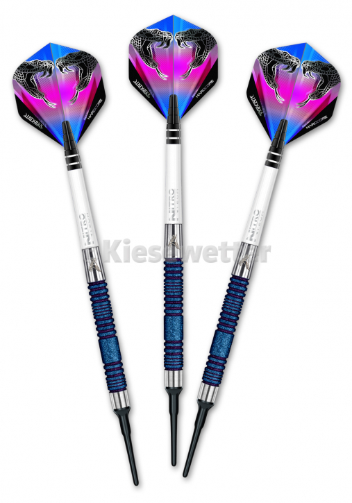 Dart-Set Euro 11 Blue Element World Cup S.E. Soft 20 g Peter Wright (Artnr. 23221)