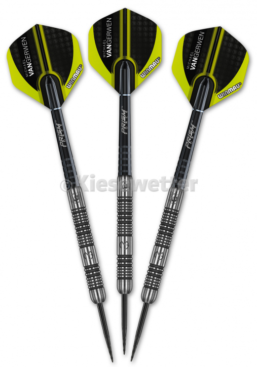 Steel Dart-Set Authentic Barrel 24 g Michael van Gerwen (Artnr. 23234)