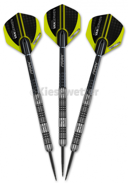Steel Dart-Set Authentic Barrel 26 g Michael van Gerwen (Artnr. 23235)
