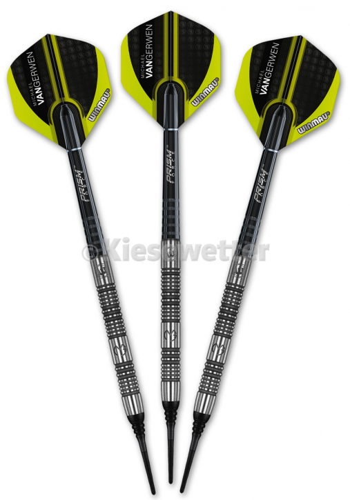 Dart-Set Authentic Soft 20 g Michael van Gerwen (Artnr. 23236)