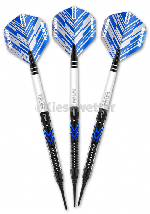 Dart-Set Blue Ice Soft 20 g Sonderedition 2021 Gerwyn Price (Artnr. 23261)