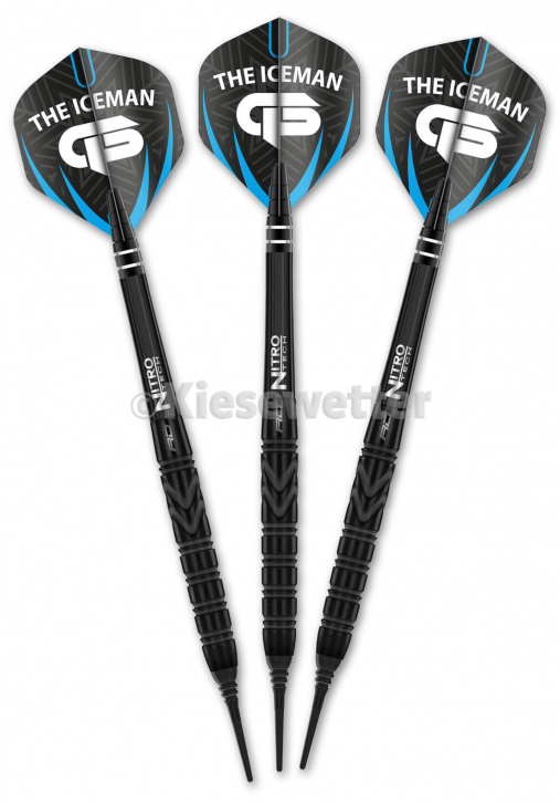 Dart-Set Back to Black Soft 20 g Sonderedition Gerwyn Price (Artnr. 23263)