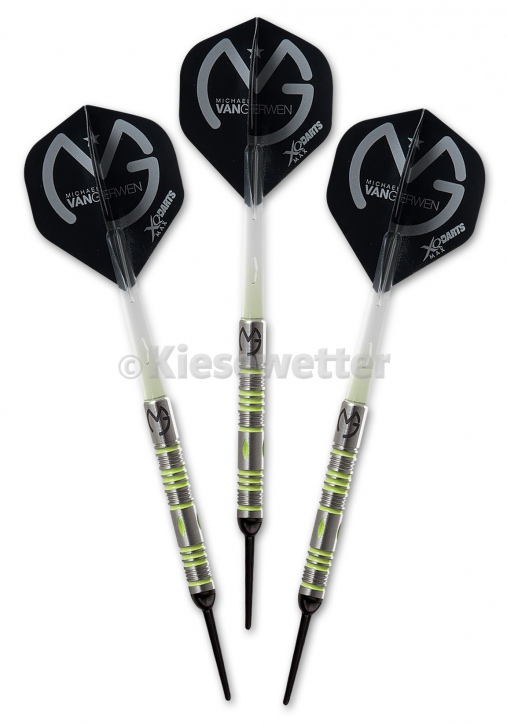 Dart-Set Mighty Generation 2 Soft 18g Michael van Gerwen (Artnr. 23775)