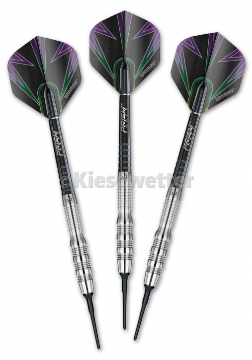 Dart-Set Silver Soft Simon Whitlock (Artnr. 23808M)