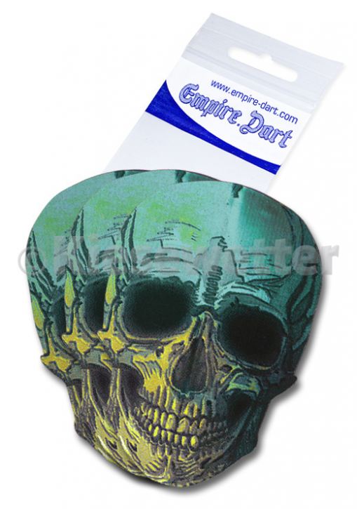 Flight-Set Empire Metallic 2D Skull (Artnr. 25575)