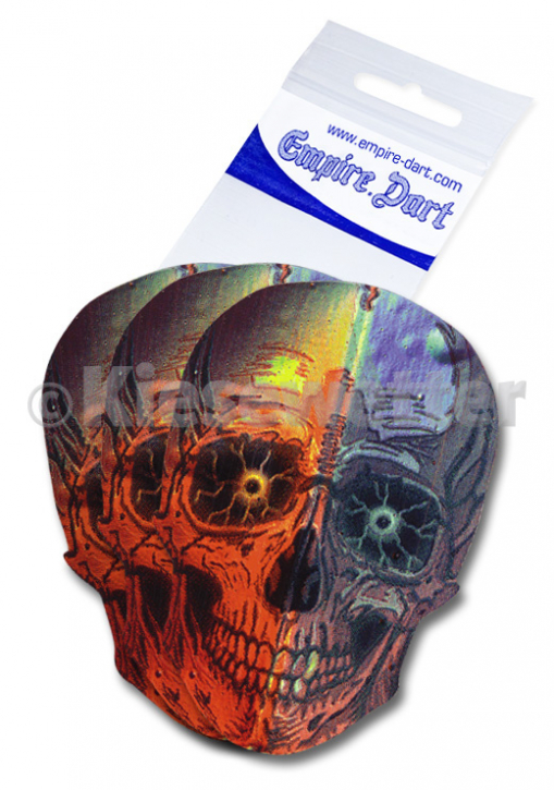 Flight-Set Empire Metallic 2D Skull (Artnr. 25577)
