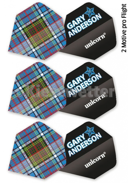Flight-Set Polyester extra strong Standard Gary Anderson