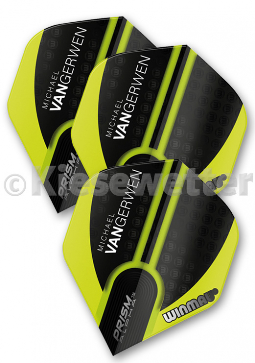 Flight-Set Polyester extra strong Standard Prism Alpha Michael van Gerwen (Artnr. 26253)