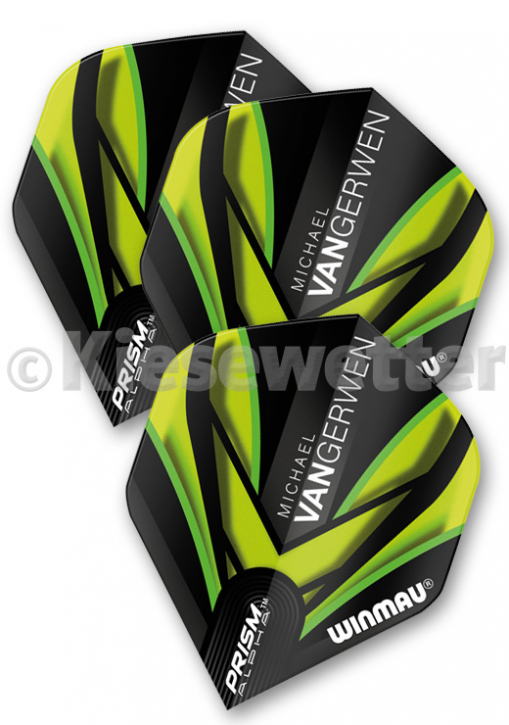 Flight-Set Polyester extra strong Standard Prism Alpha Michael van Gerwen (Artnr. 26254)