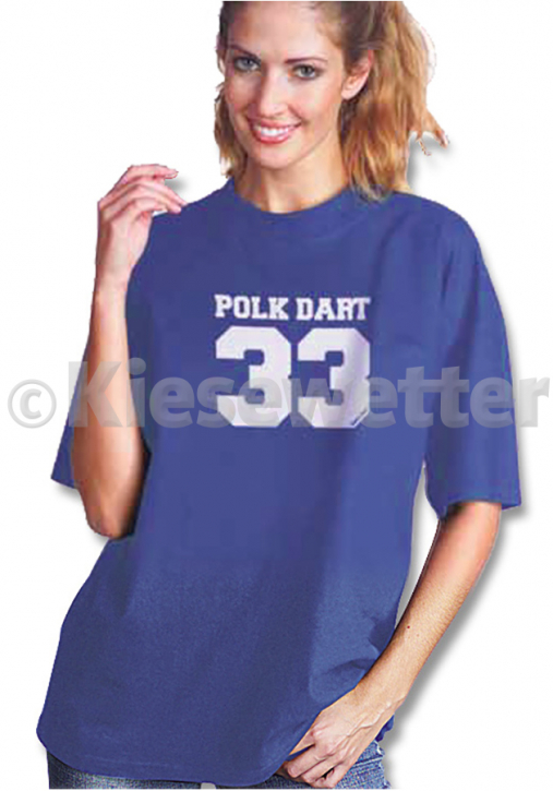 "Empire Dart T-Shirt ""Polk Dart 33"", Gr. XL (Artnr. 28056)"
