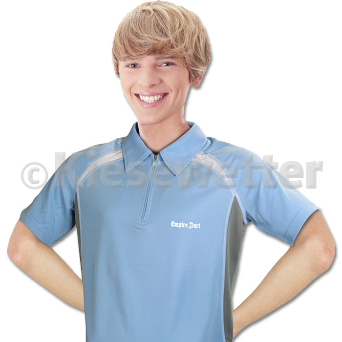 Empire Dart Poloshirt skyblue/grey/white Größe XL (Artnr. 28090)