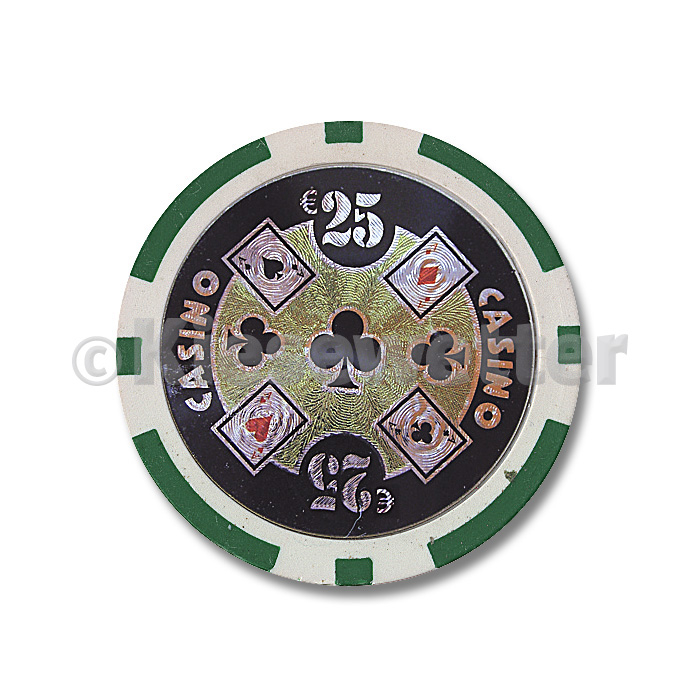 Poker Chip Casino Wert 25 (Artnr. 35213)