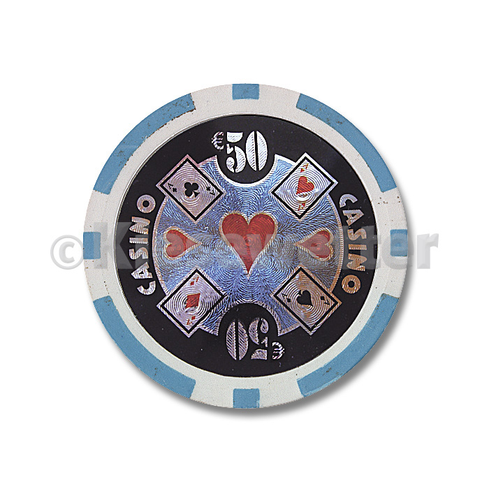 Poker Chip Casino Wert 50 (Artnr. 35214)