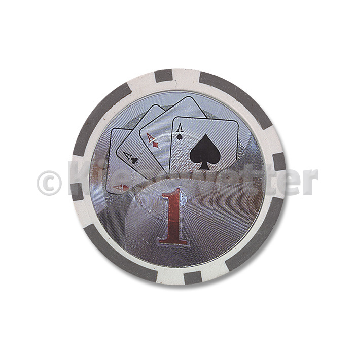 Poker Chip Flush Wert 1 (Artnr. 35220)
