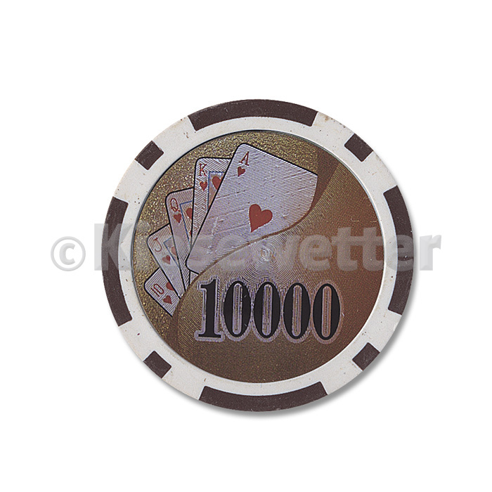 Poker Chip Flush Wert 10000 (Artnr. 35229)