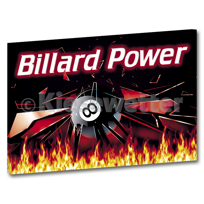 Billard-XXL-Super Picture (Artnr. 36028)