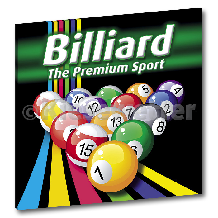 Billard-XXL-Super Picture (Artnr. 36051)