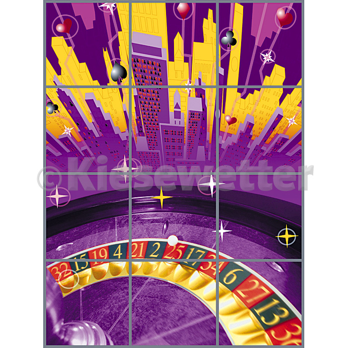 Casino Super Panel - 3 x 4 Panels (Artnr. 38084)