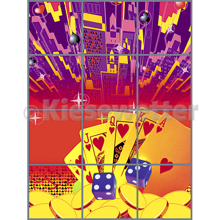 Casino Super Panel - 3 x 4 Panels (Artnr. 38085)