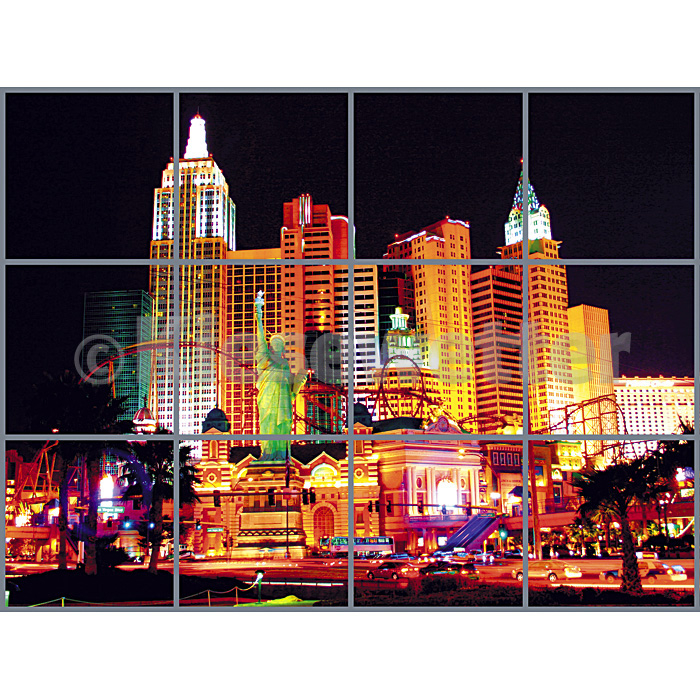 Casino Super Panel - 3 x 4 Panels (Artnr. 38090)