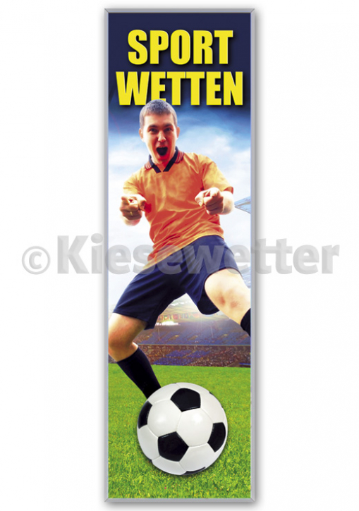 Sportwetten LED Super Display ca. 61 x 198 cm