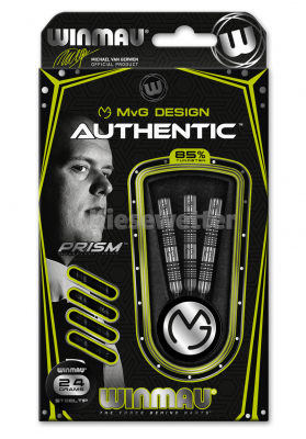 Steel Dart-Set Authentic Barrel 24 g Michael van Gerwen